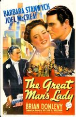 The Great Man's Lady 1942 DVD - Barbara Stanwyck / Joel McCrea